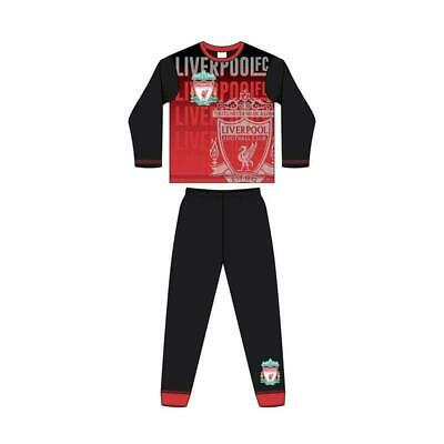 Liverpool FC Official Football Gift Boys Sublimation Long Pyjamas 4-13 Years • 5.97£