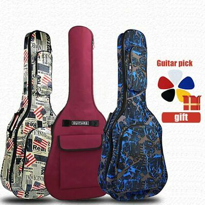 $ CDN38.63 • Buy 40 / 41 Inch Guitar Case Waterproof Bag Straps Shoulder With Cover Gig Folk