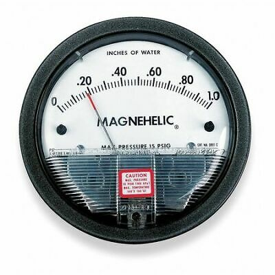 $75.54 • Buy Dwyer Instruments 2020 Dwyer Magnehelic Pressure Gauge,0 To 20 In H2o