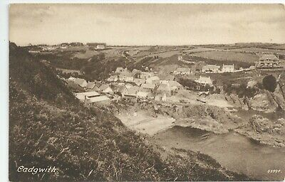£4 • Buy Printed Postcard Of Cadgwith In Cornwall In Very Good Condition