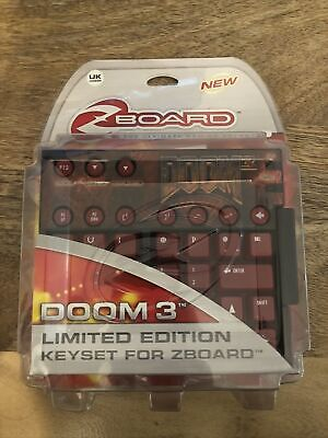 Doom 3 Limited Edition Key Set For Zboard - Brand New Factory Sealed • 25.99£