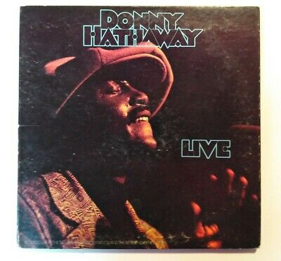 1972  Donny Hathaway Live  12  Vinyl LP 33 Recorded LIVE In Hollywood & New York • 1,082.45£