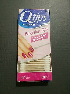 $ CDN10.91 • Buy Q-Tips Precision Tips Cotton Swabs The Ultimate Beauty Tool - 170 Ct