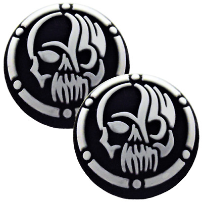 AU9.90 • Buy Thumb Grips X2 For PS4 PS5 XBOX ONE Xbox Series X Toggle Cover Cap - Skull