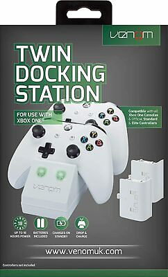 Venom Xbox One S Twin Docking Station With 2x Rechargeable Battery Packs Colors • 21.77£