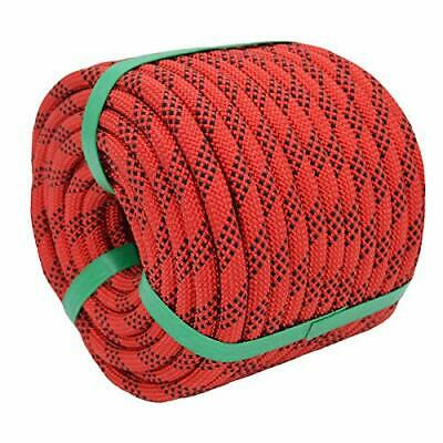Static Rock Climbing Rope Outdoor Safety Fire Escape Rope 2/5 Inch X 100 Feet • 39.73£