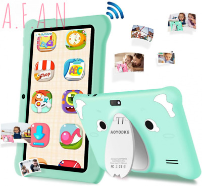 Kids Tablet 7 Inch Android 9.0 PC, Google Certificated, 3 GB Green  • 146.83£