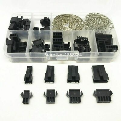 AU8.87 • Buy 200PCS 2.54mm Dupont Terminal Male Kit Connector Wire Housing Header Jumper