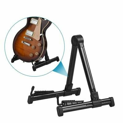 $ CDN30.52 • Buy Professional Electric Guitar Stand Accessories Holder Rack Musical A-Frame Bass