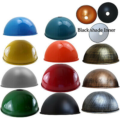 £10.88 • Buy Industrial Easy Fit Ceiling Light Shade Kitchen Retro Metal Pendant Lampshade UK