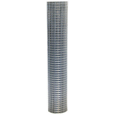 Wire Fencing 1.8m X 10m Welded Wire Mesh Strong Galvanised Steel Roll 50mm Holes • 77.50£