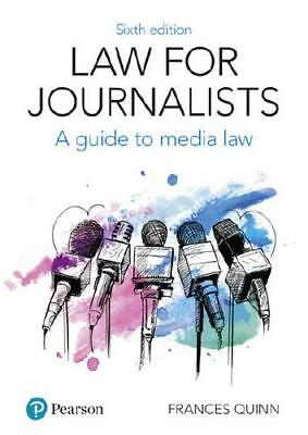 £27.24 • Buy Law For Journalists By Frances Quinn (author)