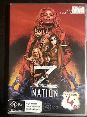 AU18 • Buy Z Nation : Season 4 DVD, 4-Disc Set Region 4 Rated R18+