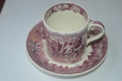 Wedgwood Coffee Can And Saucer Ferrara Pattern • 10£