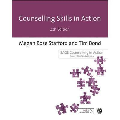 Counselling Skills In Action By Megan Rose Stafford (author), Tim Bond (autho... • 19.99£