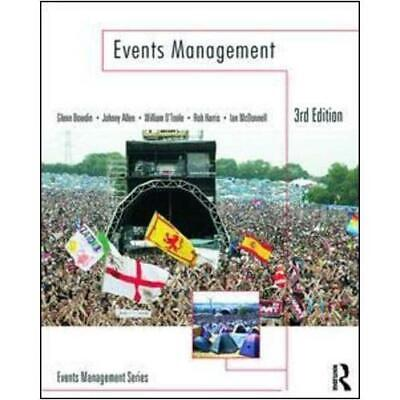 £30.08 • Buy Events Management By G. A. J. Bowdin (author), Johnny Allen (author), William...