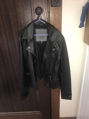AU40 • Buy Forever New Faux Leather Jacket Size 8