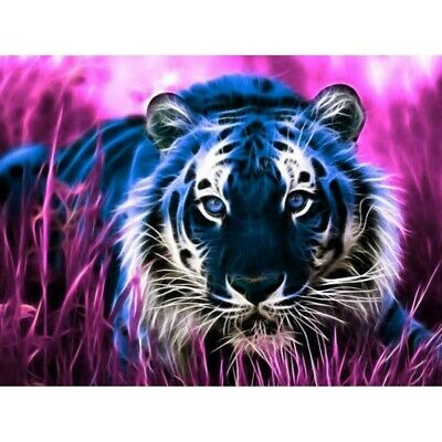 AU15.95 • Buy Full Drill 5D DIY Diamond-Painting Art Craft Planet Tiger Embroidery Handmade