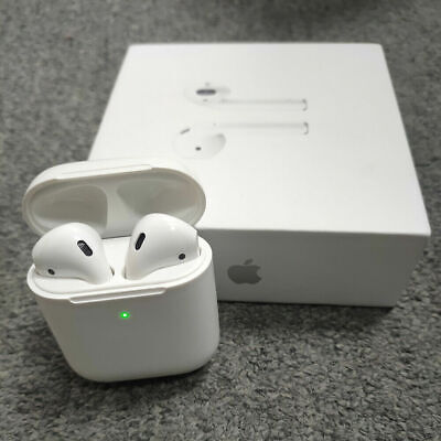 AU95.99 • Buy Apple AirPods 2nd Generation W/ Charging Case Wireless In-Ear Headphone White AU