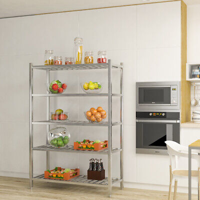Commercial Catering Shelf Stainless Steel Storage Rack Kitchen Shelving Unit UK • 115.14£