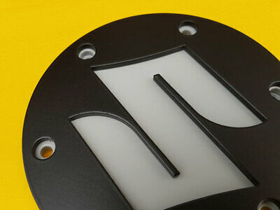 $109 • Buy Color 3D Stainless Steel Generator Cover With  Suzuki  Logo For M109R / M1800R.