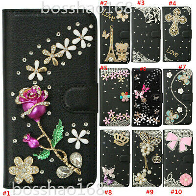 AU21.42 • Buy For Samsung Galaxy Z Fold 2 5G Bling Glitter Magnetic Flip Leather Case Cover