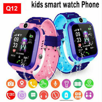 AU13.93 • Buy Anti-lost Smart Watch Band Safe SOS Call GSM SIM Camera Tracker For Kid Children
