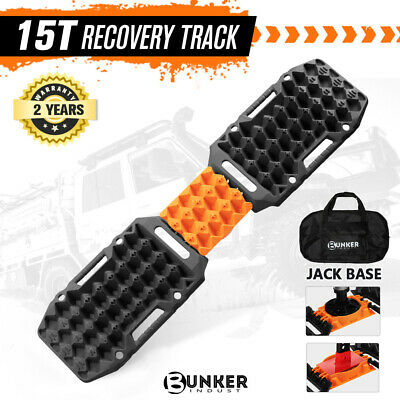 AU119.95 • Buy BUNKER INDUST Recovery Tracks Sand Track Black 15T 4WD Car Accessories 4x4