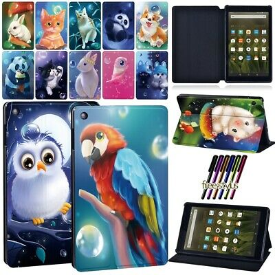 £7.99 • Buy Leather Case Stand Cover For Amazon Fire 7 /HD8/HD8 Plus 2020/HD 10 Alexa Tablet