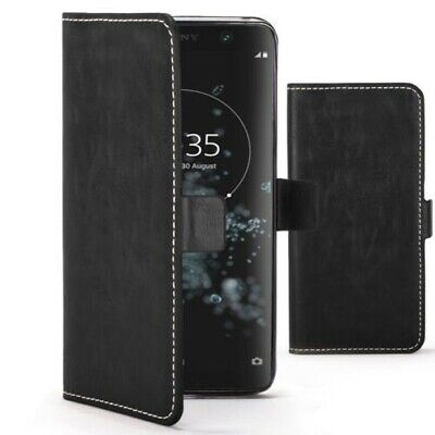 $ CDN7.78 • Buy Sony Xperia XA2 Plus Funda Por FC - Cuero Artificial Premium Cartera Plegable