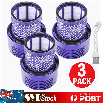 AU26.98 • Buy 3x Vacuum Filter For Dyson V10 Series Cyclone Animal Absolute SV12 Total Clean
