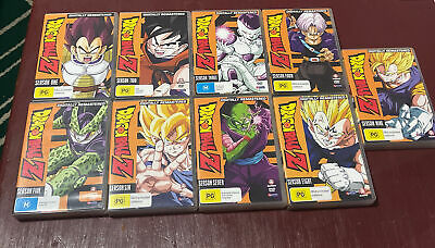 AU289.95 • Buy DragonBall Z Seasons 1 2 3 4 5 6 7 8 9 Series Collection R4 English DBZ Fat Pack