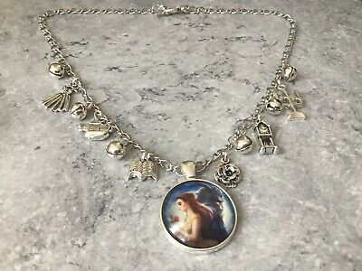 AU25.20 • Buy Beauty & The Beast Statement Charm Jingle Bells 18  Necklace Unwanted Xmas Gift