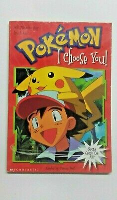 $3 • Buy Pokemon I Choose You, 20 Year Old Story Book Volume 1 In Fair Condition, English