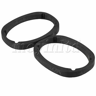 AU47.27 • Buy Universal Speaker Spacer Adapter Black Color 6x9inch Pack Of 2