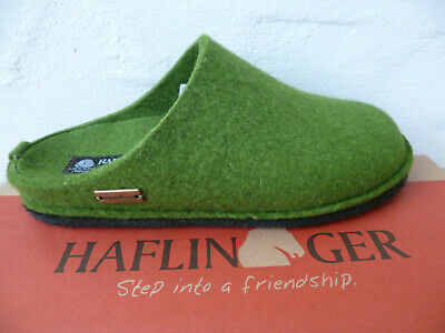 Haflinger Ladies Slippers House Shoes Mules Green New • 59.52£