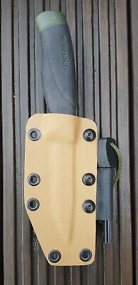 Kydex Sheath For Mora Knife With Firesteel - Bushcraft - Outdoors - Wildcamp • 24£