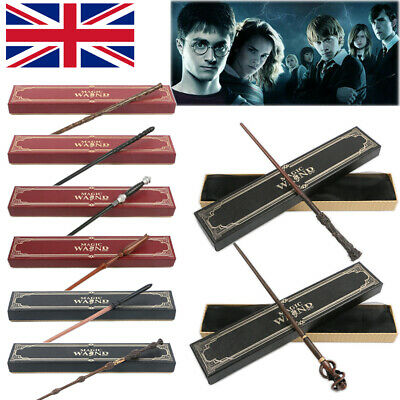 £11.99 • Buy Harry Potter Ginny Magic Wand Cosplay Malfoy Hermione Metal Core Wands Toy Gift