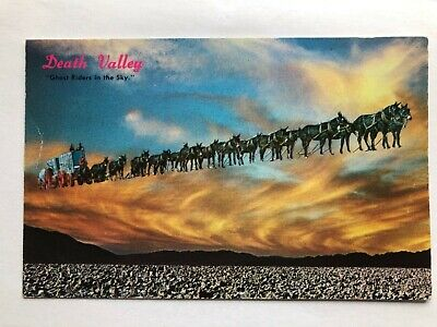Death Valley Ghost Riders In The Sky California Postcard • 9.95£
