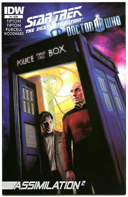 Star Trek / Doctor Who Assimilation 2 #5  IDW Comic Book VF/NM • 3.62£