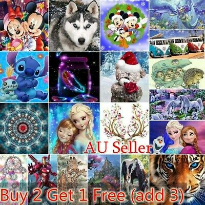 AU15.49 • Buy Diamond Painting Full Drill 5D Mosaic Embroidery Art Craft Mural DIY Home Decor