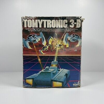 Vintage Tomytronic 3D Sky Attack Handheld Electronic Game Boxed Tested Working • 99.99£