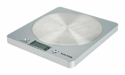 Salter Digital Kitchen Weighing Scales - Slim Design Electronic Cooking For Home • 19.41£