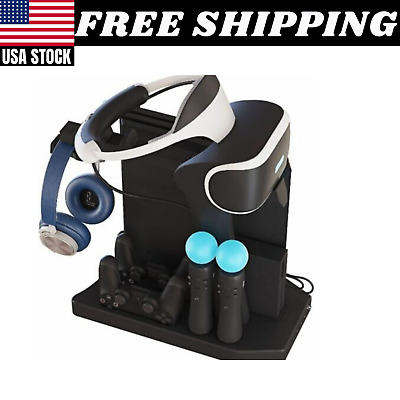 AU62.57 • Buy PSVR Charging Stand PS4 Playstation VR Headset Charger Display Organizer Storage