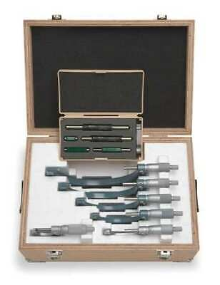 $798.10 • Buy Mitutoyo 103-907-40 Micrometer Set,0 To 6 In,0.0001 In,6 Pc