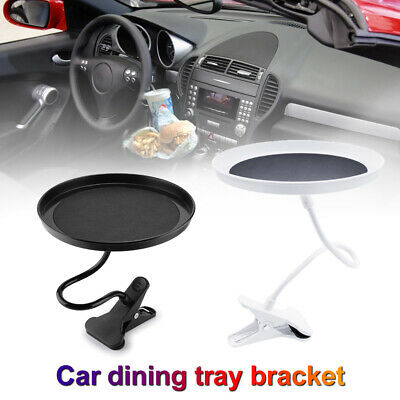 $24.22 • Buy Car Swivel Mount Holder Travel Cup Coffee Table Stand Food Tray Folding Dining
