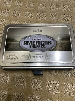 $ CDN12.62 • Buy Vintage Grizzly Snuff Tin Collector American Snuff Co Chew Tobacco Advertised