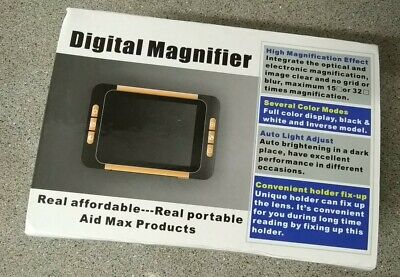 £52 • Buy 3.5  Aid Portable Video Magnifier Electronic Digital Magnifier For Low Vision