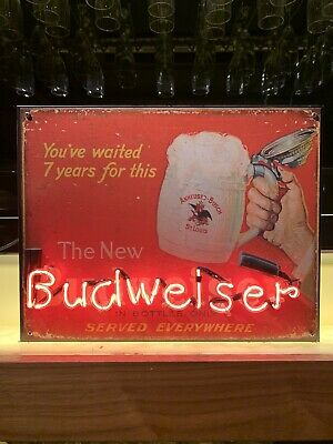 $ CDN176.45 • Buy Budweiser Neon Sign