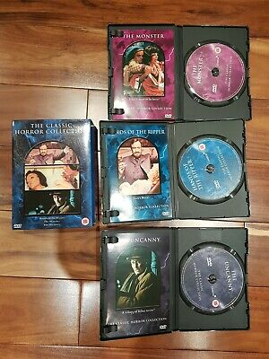 The Classic Horror Collection (DVD, 2002, 3-Disc Set, Box Set) • 4.99£